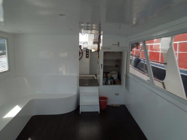 cabin cruiser 47 interior