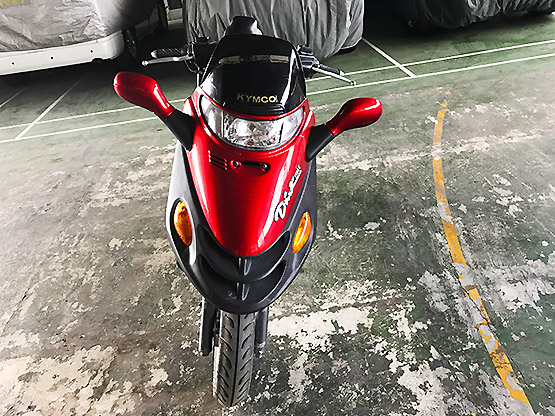 Kymco 150 front