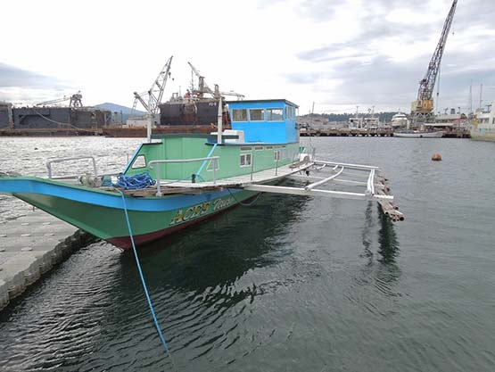 12Metre Liveaboard Catamaran Houseboat