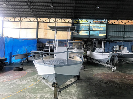 Abalone boat for sale