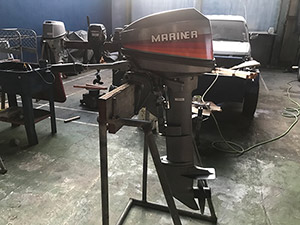 Mariner 15HP 2-stroke side view