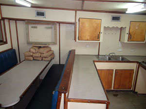 fishing vessel saloon