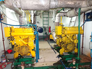 fishing vessel engine room