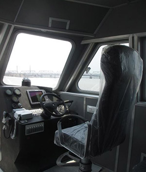 passenger ferry cockpit