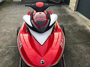 Sea-Doo RXP Jetski with trailer