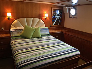 Watson 72 Expedition Motor Yacht cabins